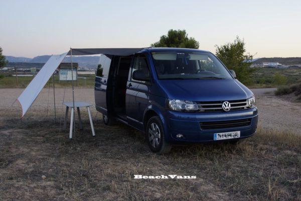 Volkswagen california camperizada completamente beach vans